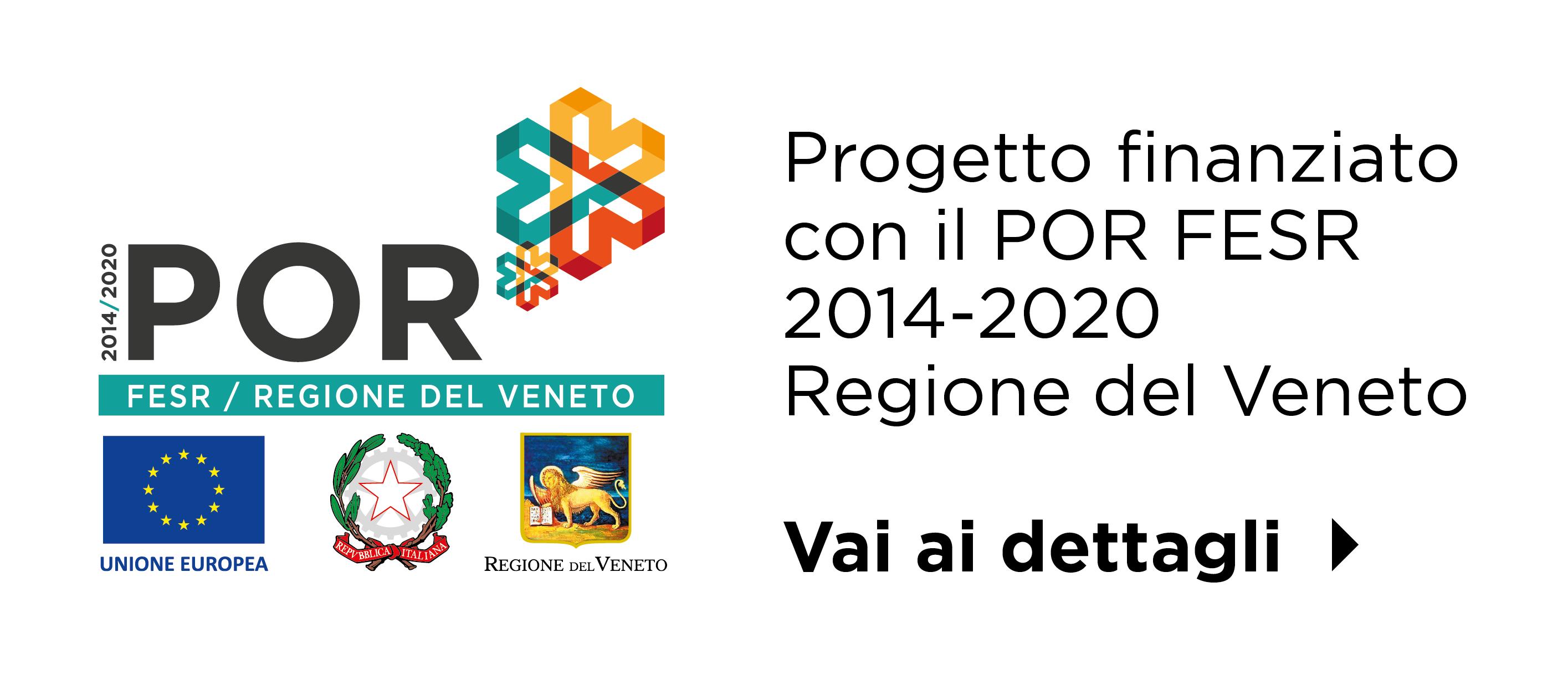 Progetto finanziato con il POR FESR 201-2020